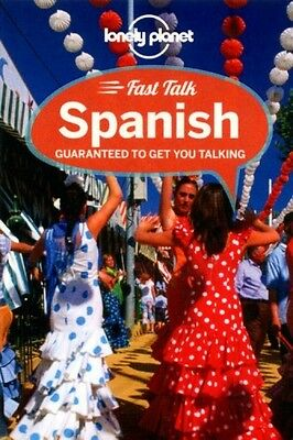 Fast Talk Spanish Pocket Language Phrasebook Mini Book Travel Guide Holiday NEW
