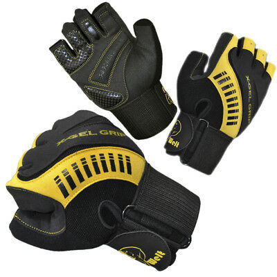 FitWelt X-Gel Grip - Fitness Handschuhe Trainings Bodybilding Kraftsport TOP