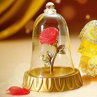 LED Light Beauty and the Beast Disney Crystal