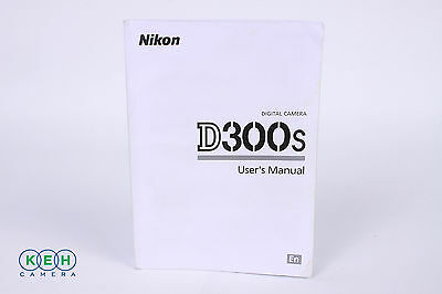 Nikon D300S Instruction Manual