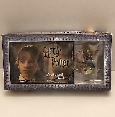 Harry Potter Postcard Book With Hermione Granger Figurine