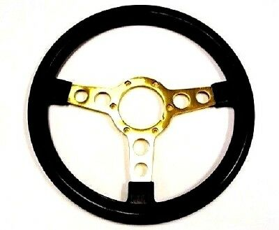 1970 - 1981 Trans Am Se Steering Wheel - Black W/ Gold Spokes - Special Edition
