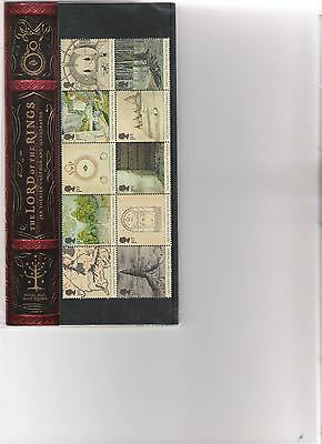 2004 Royal Mail Presentation Pack Lord Of The Rings Mint Decimal Stamps