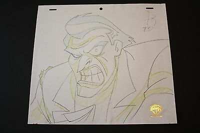 Original Animation Production Drawing from Batman:The Animated Series