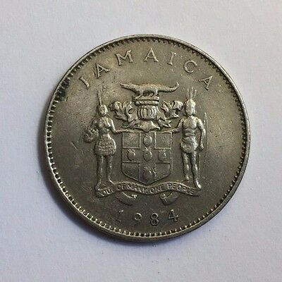 Jamaica 1984 10 Cents Coin
