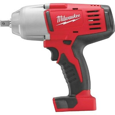 Milwaukee M18 18-Volt Lithium-Ion 1/2 In. High Torque Cordless Impact Wrench wit