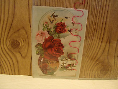 Antique 1890s LION COFFEE Advertising Trade Picture Card Toledo,Oh Woolson Spice