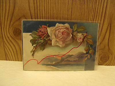 Antique LION COFFEE 1890s Trade Advertising Picture Card Woolson Spice Toledo,Oh