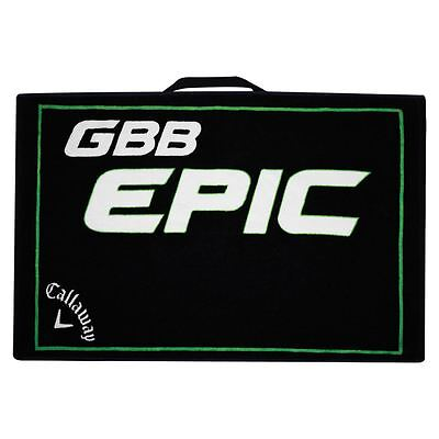 "Callaway Golf 2017 GBB Epic Cotton Large Mens Golf Towel 30"" x 20"""