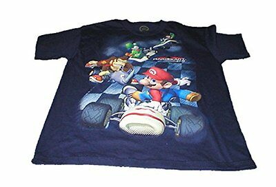 Mariokart 7 Ds Mario and Friends Boys Shirt Xl 14/16