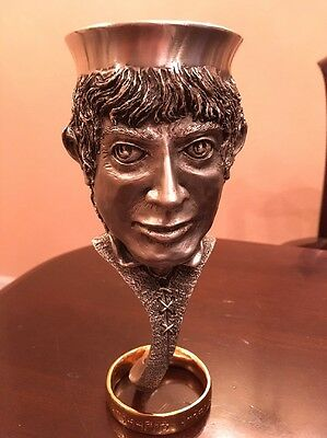 Frodo Lord of the Rings Royal Selangor Pewter Goblet without box