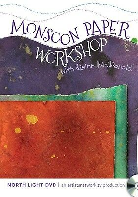 Monsoon Paper Workshop with Quinn McDonald