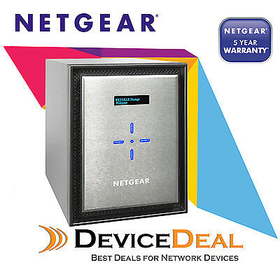 NETGEAR RN626X00-100AJS ReadyNAS 626X - 6 Bay NAS - Intel Xeon Quad-Core 2.4GHz