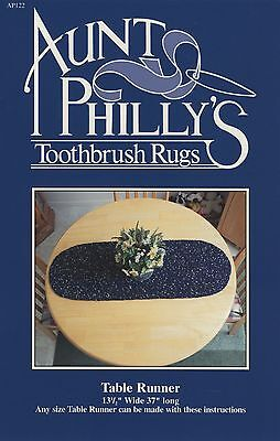 Table Runner Toothbrush Rug