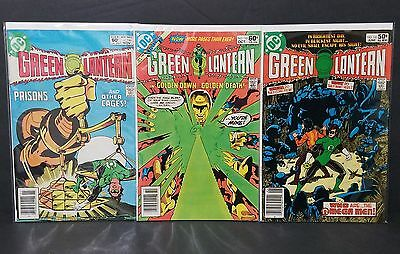 GREEN LANTERN lot #141 145 146 VF 1st Omega Men 1981 Key DC