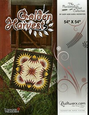 Golden Harvest Quilt Pattern By Quiltworx