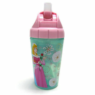 Disney Princess Insulated Straw Cup Toddler/Child BPA Free Drink Bottle