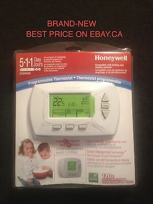 Honeywell RTH6400D 1018 5-1-1 Day Thermostat