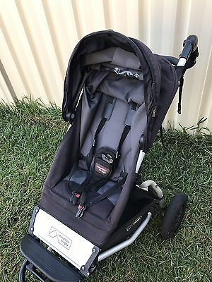 Mountain Buggy SWIFT Replacement Seat / Sling ONLY in Flint grey