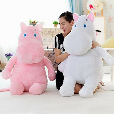 Hippo BOM 2 Color 80CM Doll Plush Stuffed Moomin Animal Pillow Park 2NE1