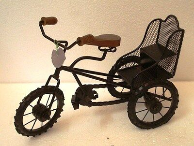 Vintage Style Collectible BICYCLE - TRICYCLE - Cycle - RARE