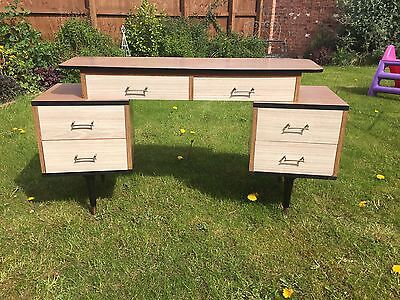 Vintage Dressing Table Or 1950's Desk Excellent Condition