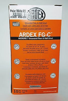 ARDEX FG-C™ MICROTEC® Polar White Unsanded Grout 10lbs