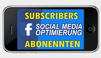 1000 x Facebook Profil Abos real #Facebook# Service & Optimization Subscriber PR