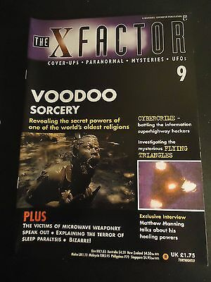 The X Factor Issue 9 Magazine 1997