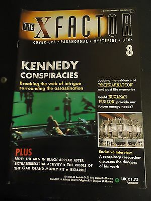 The X Factor Issue 8 Magazine 1997