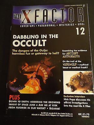 The X Factor Issue 12 Magazine 1997
