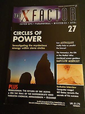 The X Factor Issue 27 Magazine 1997