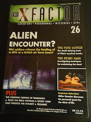 The X Factor Issue 26 Magazine 1997