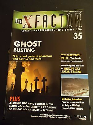 The X Factor Issue 35 Magazine 1998