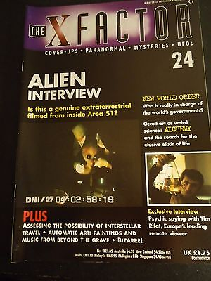 The X Factor Issue 24 Magazine 1997