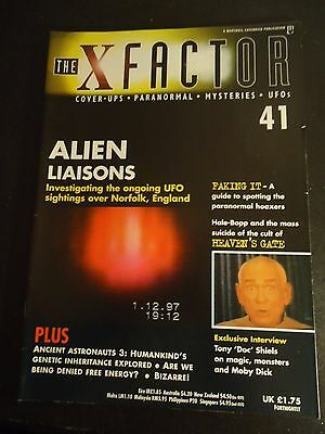 The X Factor Issue 41 Magazine 1998