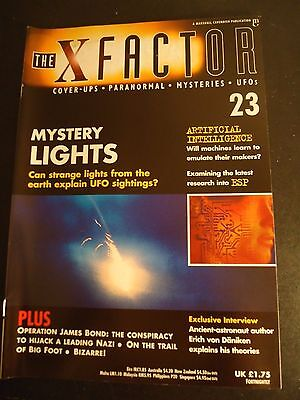 The X Factor Issue 23 Magazine 1997