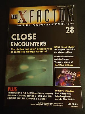 The X Factor Issue 28 Magazine 1997