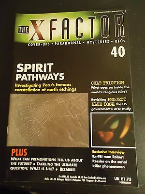 The X Factor Issue 40 Magazine 1998