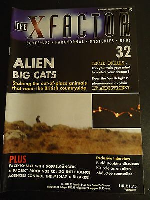 The X Factor Issue 32 Magazine 1998