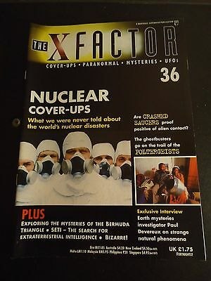 The X Factor Issue 36 Magazine 1998