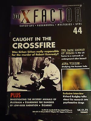 The X Factor Issue 44 Magazine 1998