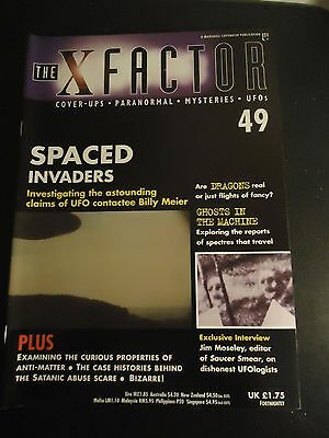 The X Factor Issue 49 Magazine 1998