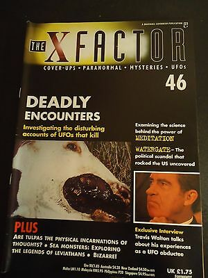The X Factor Issue 46 Magazine 1998