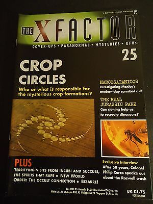 The X Factor Issue 25 Magazine 1997