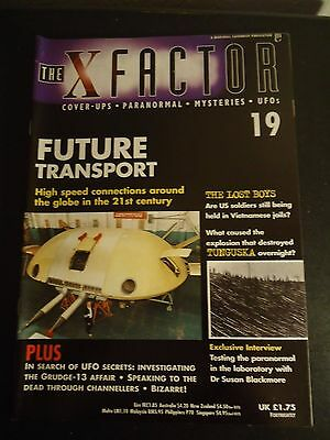 The X Factor Issue 19 Magazine 1997