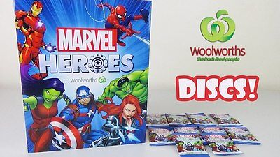 Woolworths Marvel Heroes Discs CHOOSE ANY Disc from 99c EACH free Postage #1-42
