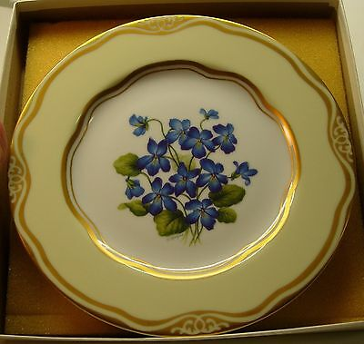 Flowers Of The First Ladies The Congressional Club Clinton Plate