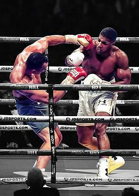 ANTHONY JOSHUA POSTER Klitschko Boxing Gym Wall Art Print Picture Photo A3 A4