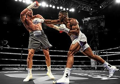 ANTHONY JOSHUA POSTER Klitschko Boxing Wall Art Print Pic Photo A3 A4